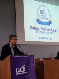 Christophe Geourjon Discours Lyon UDI