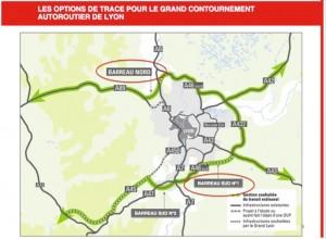 Infrastructures autoroutières - Contournement Est - UDI Métropole de Lyon