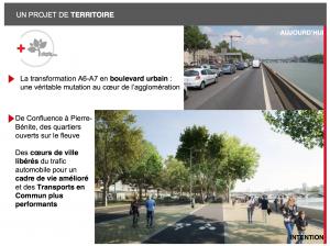 Infrastructures autoroutières - Déclassement autoroute A::A7 - UDI Métropole de Lyon