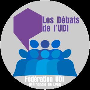Logo-débat-de-l'UDI-Fédération UDI Métropole de Lyon
