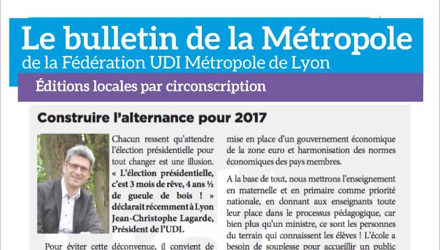 Image-a-la-uneBulletin-de-la-Métropole---Fédération-UDI-métropole-de-lyon-2