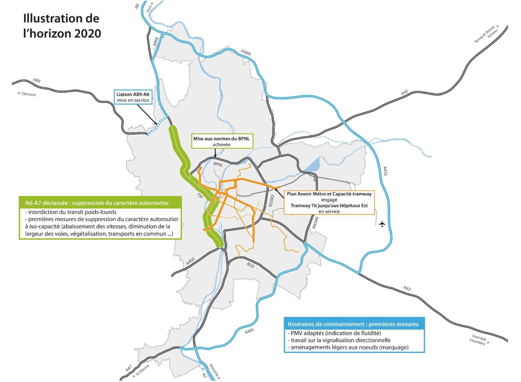 Horizon 2020-Déclassement A6 A7 - Fédération UDI Métropole de Lyon