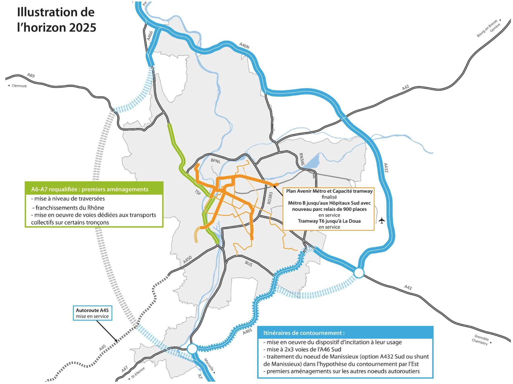 Horizon 2025 - Déclassement A6 A7 - Fédération UDI Métropole de Lyon