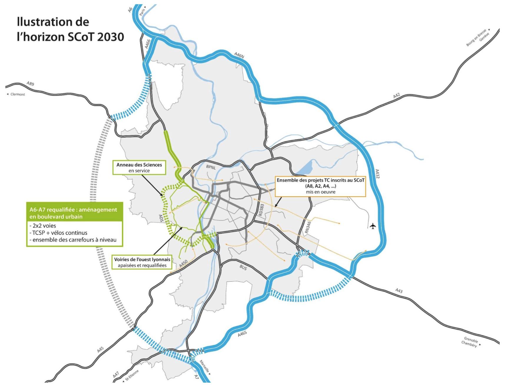 Horizon 2030 - Déclassement A6 A7 - Fédération UDI Métropole de Lyon