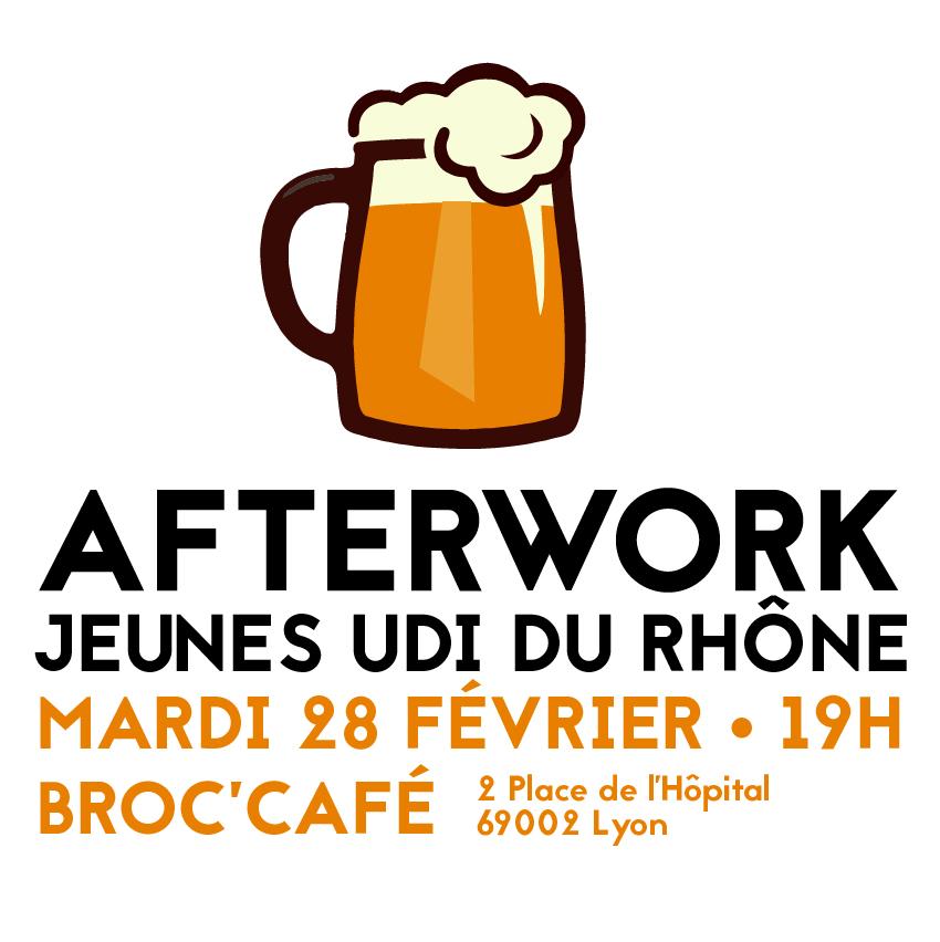 Afterwork Jeunes UDI du Rhône Fevrier 2017