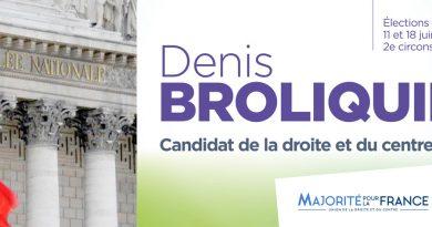 Mardi 30 mai de 10h30 à 11h30– Réunion publique Lyon 4 – Denis Broliquier