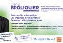Mercredi 31 mai de 17h à 18h – Réunion publique Lyon 9 – Denis Broliquier