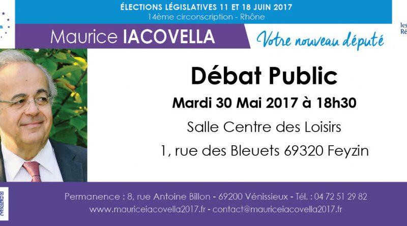 cte-feyzin Débat Public Maurice Iacovella Legislatives 2017 circonscription 14 6914