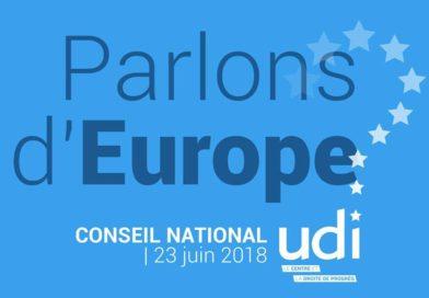 Réaction de Christophe Geourjon suite à l'intervention d'Emmanuel Macron devant le Parlement Européen à Strasbourg